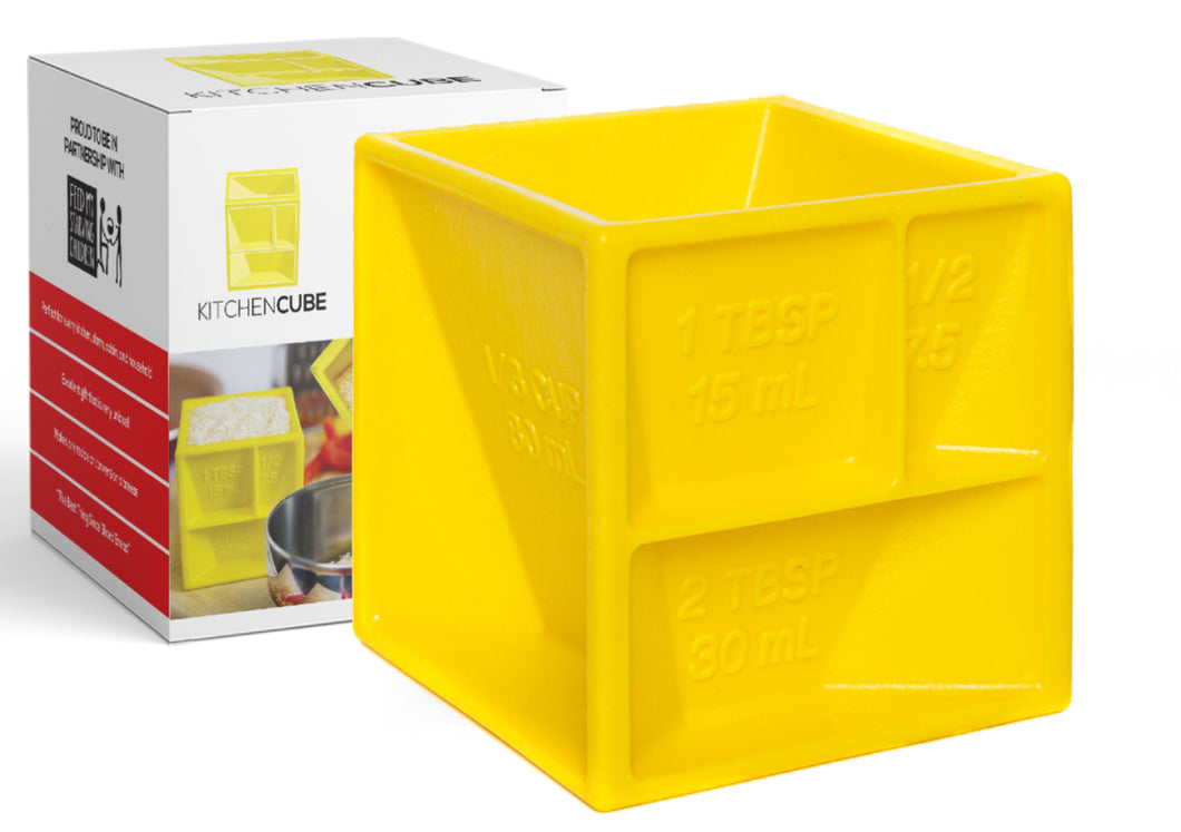 Kitchen Cube | All-in-1 Measuring Device