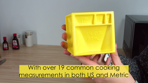Kitchen Cube | NEW All-in-1 Measuring Device