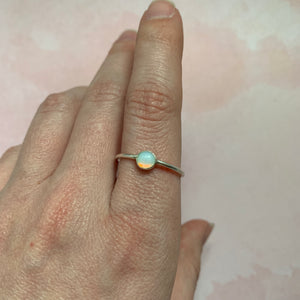 Tiny Moonstone Stacker