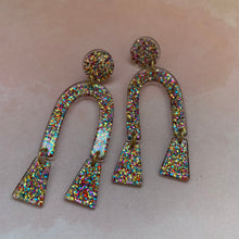 Load image into Gallery viewer, Funfetti Glitter Earrings