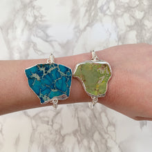 Load image into Gallery viewer, Sea Sediment Jasper Cuff