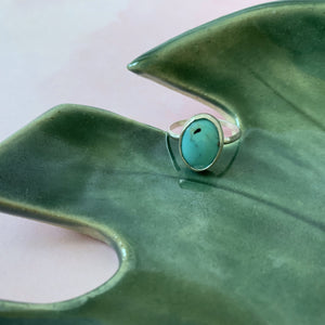 Small Arizona Turquoise Ring size 6 - The Catalyst Mercantile