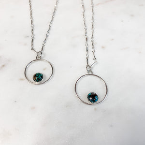 Lift You Higher Turquoise Pendant Necklace
