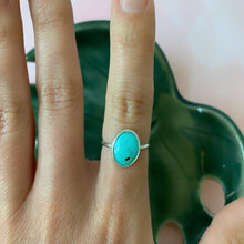 Load image into Gallery viewer, Small Arizona Turquoise Ring size 6 - The Catalyst Mercantile