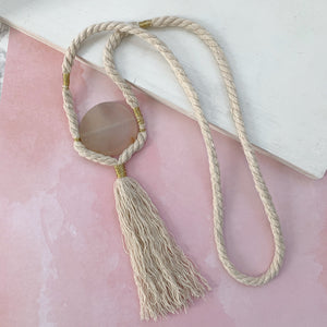 Tucson Rope Necklace