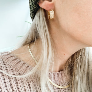 Powerful Statement Hoops