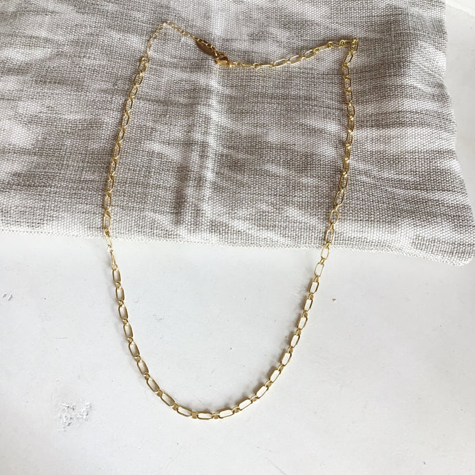 Too Legit Chunky Chain Dainty Necklace