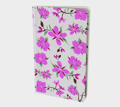 Pretty little purple flower note book (dwarf fireweed)