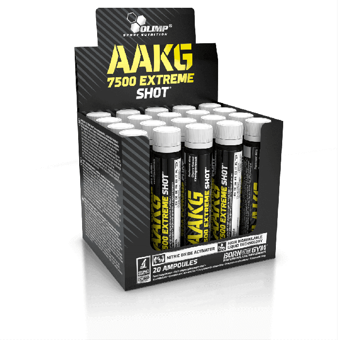 AAKG | Olimp Sport Nutrition | AAKG 7500 Extreme Shots | 20 fiole (40 portii)