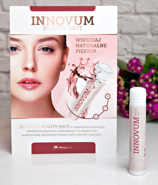 colagen hidrolizat + acid hialuronic Innovum beauty shot
