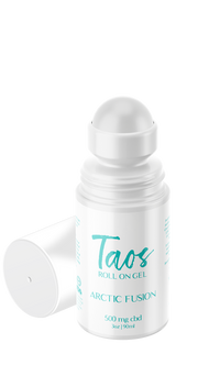 Taos Arctic Fusion Roll On Gel 500MG CBD