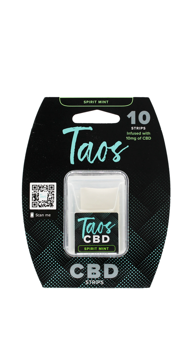 Taos 100MG CBD Breath Strips