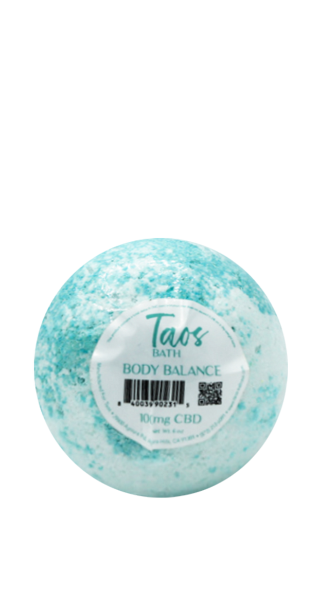Taos Body Balance Bath Bomb 100MG CBD
