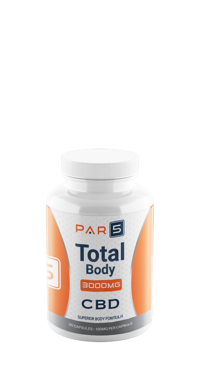 Par5 Total Body Capsules 3000mg CBD