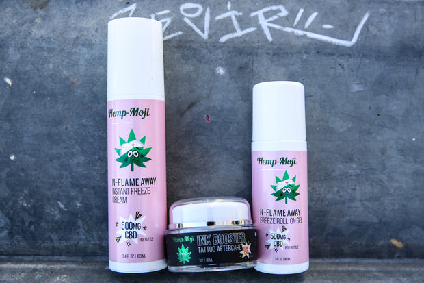 Hemp-Moji N-Flame Away Roll-On Gel 500mg CBD
