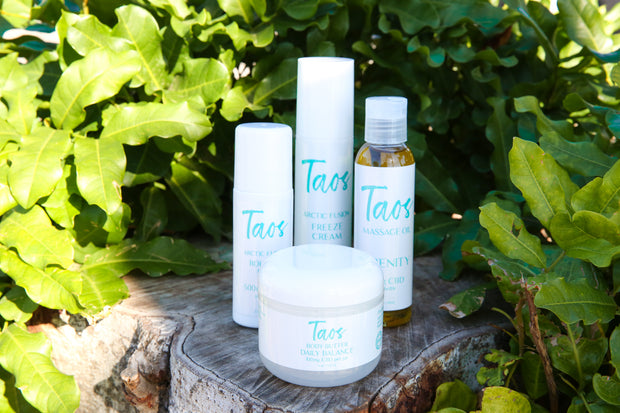 Taos Serenity Massage Oil 20MG CBD