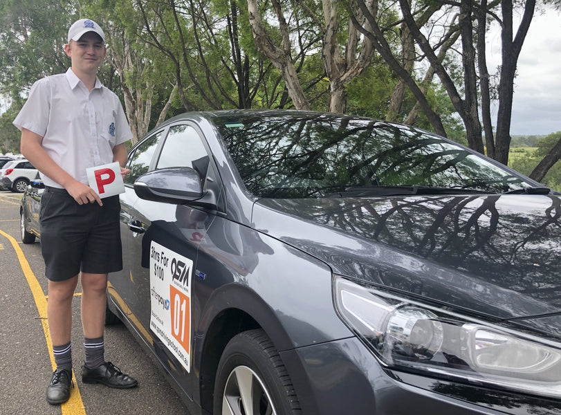 Easy CLEAN SHEET driving test passed with QSM driving school!