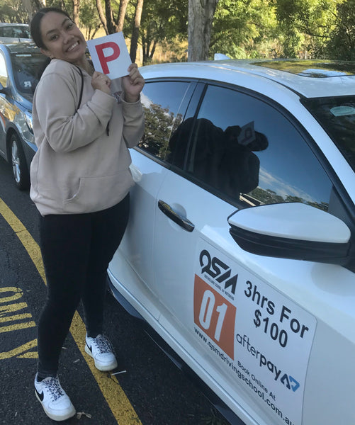 The smile says it all, one happy driver!
