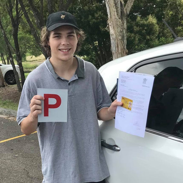 A few driving lessons, and it's another driving test pass with QSM!
