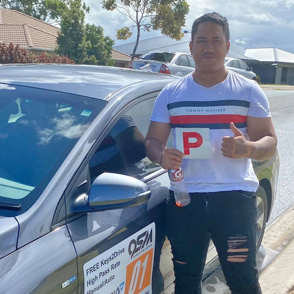 Boom! Another CLEAN SHEET driving test pass....nice work Fatu!
