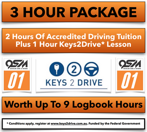 The best value driving lesson packages, with AfterPay options.