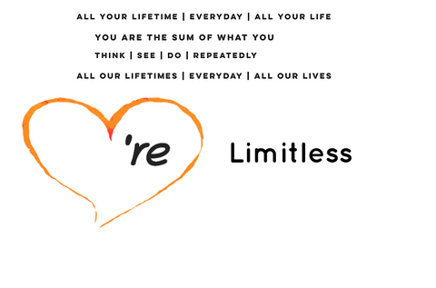 We are You are We're You're limitless