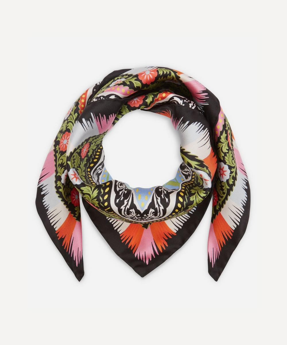 Liberty London Aurora 70 x 70cm Silk Twill Scarf