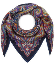 Load image into Gallery viewer, Liberty London Chesham Paisley 70 x 70cm Silk Twill Scarf