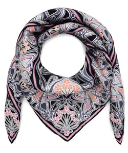 Liberty London Ianthe 70 x 70cm Silk Twill Scarf