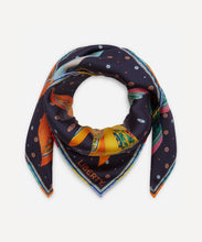 Load image into Gallery viewer, Liberty London Natalie 70 x 70cm Silk Twill Scarf