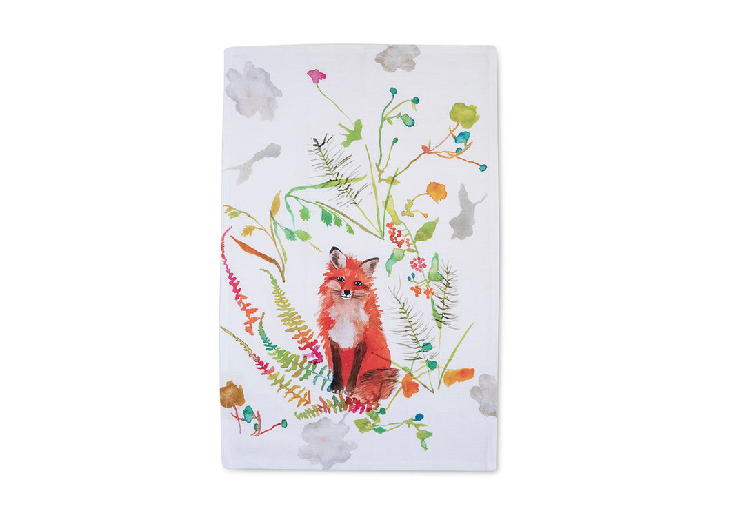 Fox Tea Towel