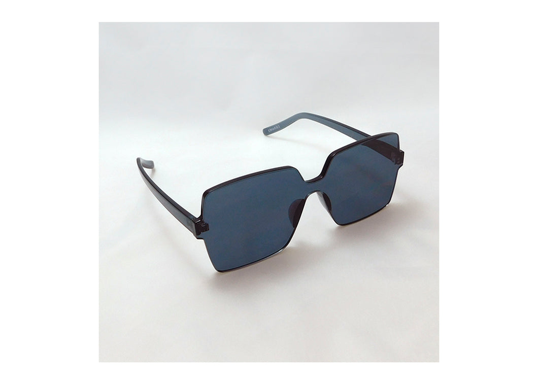 Big Block Sunnies in Graphite