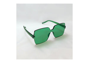 Big Block Sunnies in Seagrass
