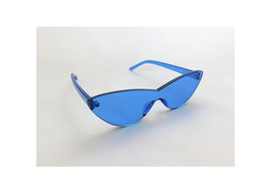 Cat Eye Sunnies in Cerulean