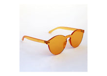Load image into Gallery viewer, Classic Round Sunnies in Amber
