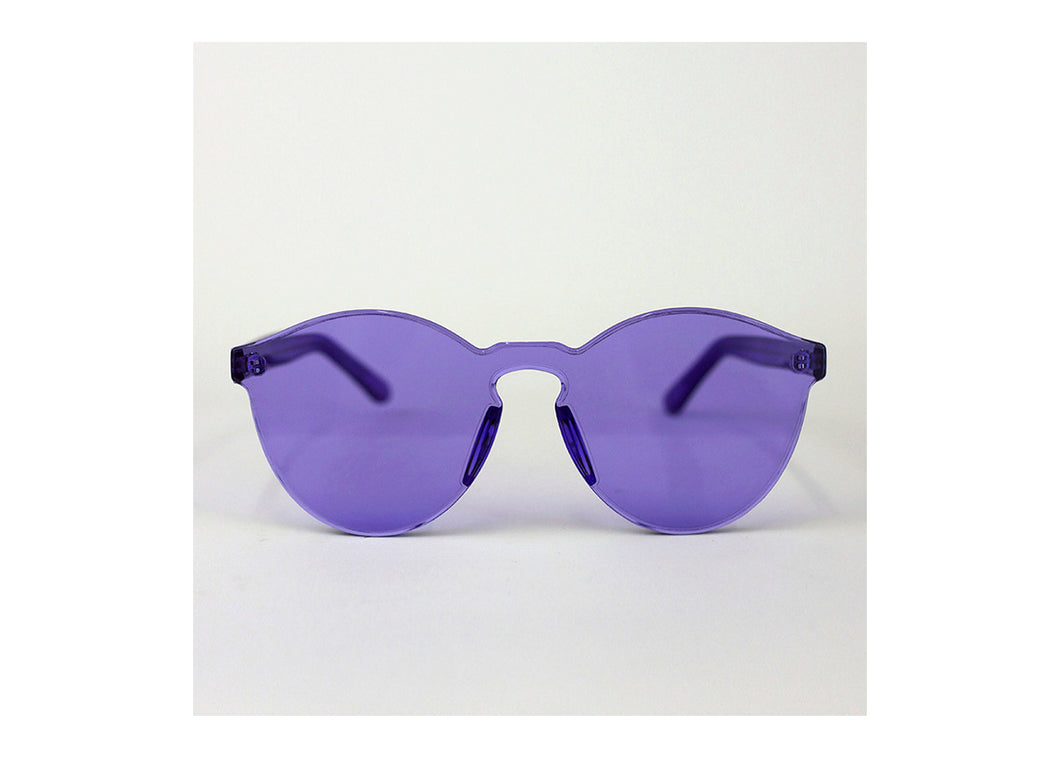 Classic Round Sunnies in Amethyst