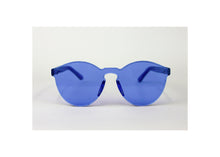 Load image into Gallery viewer, Classic Round Sunnies in Cerulean