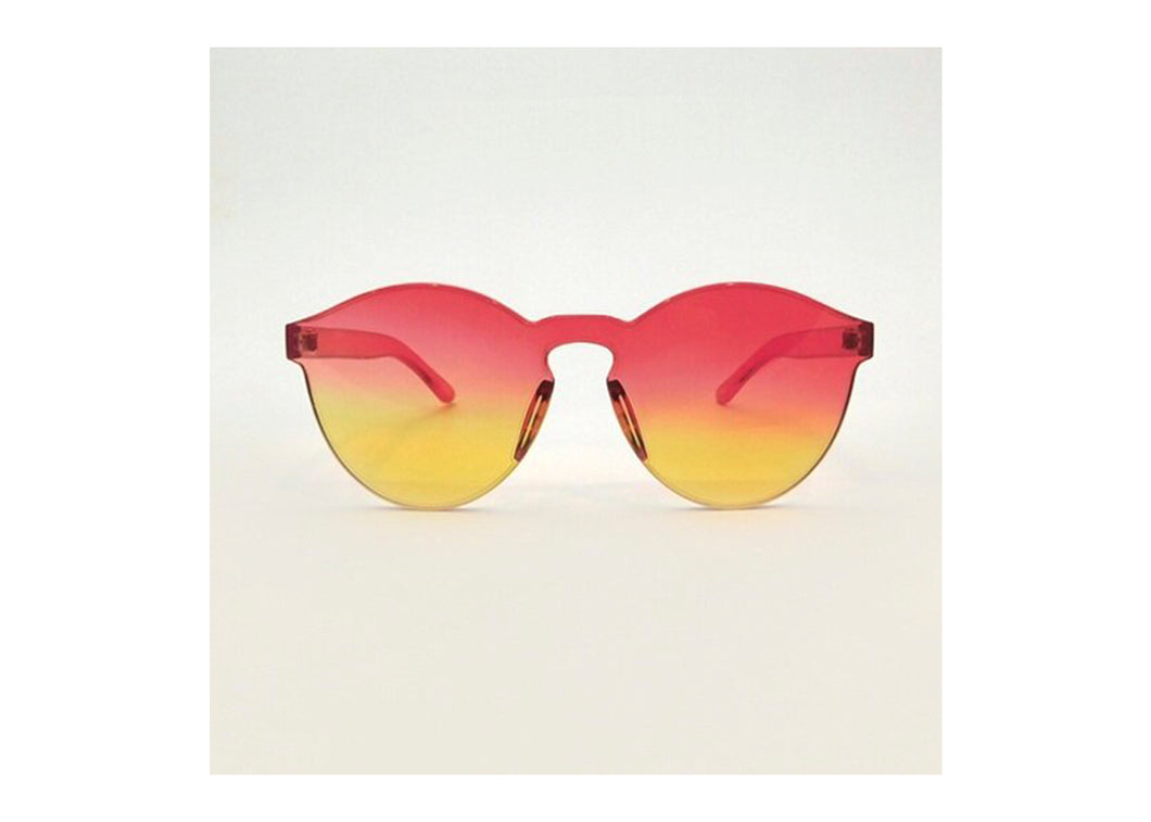 Classic Round Sunnies in Flame Gradient