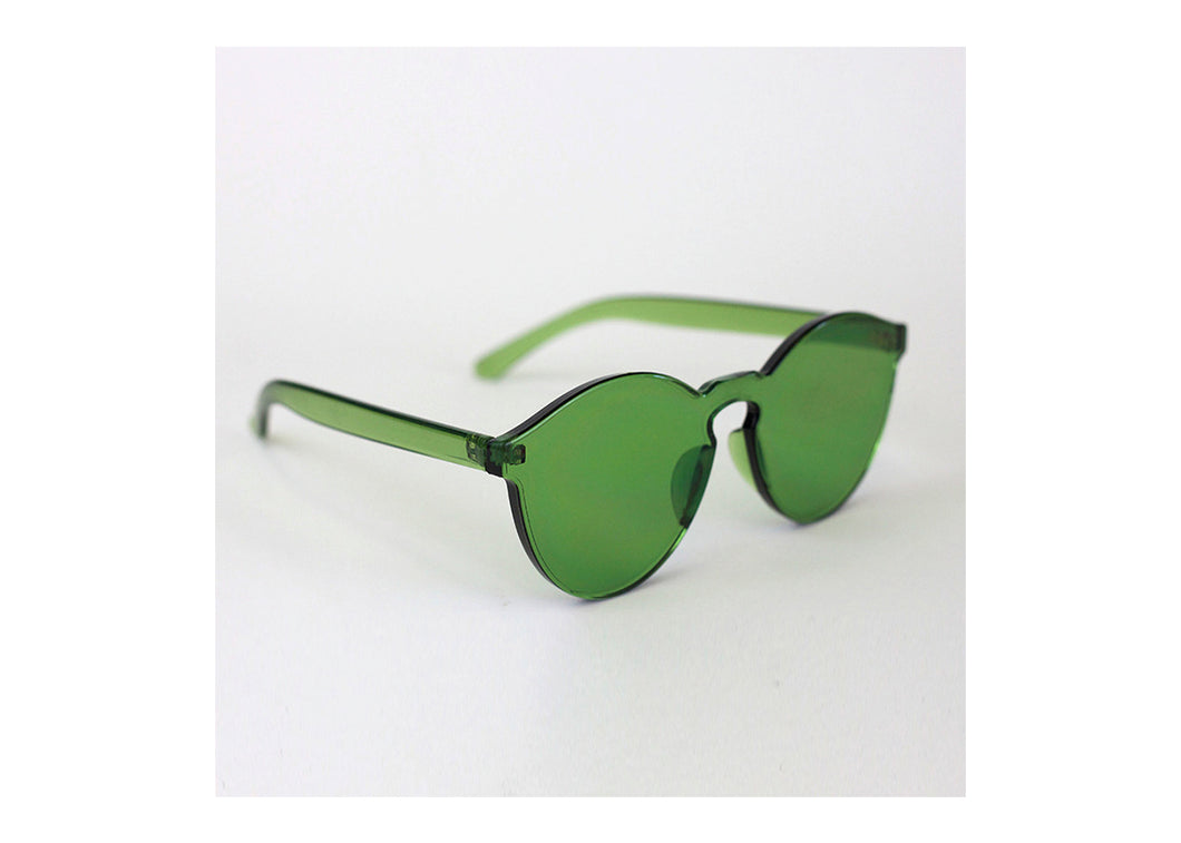 Classic Round Sunnies in Seagrass