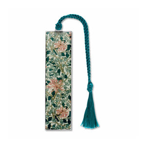 William Morris Honeysuckle Metal Bookmark