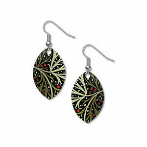 Morris Seaweed Earrings