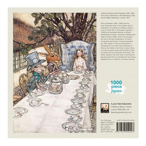 Alice in Wonderland Tea Party 1000 piece jigsaw puzzle