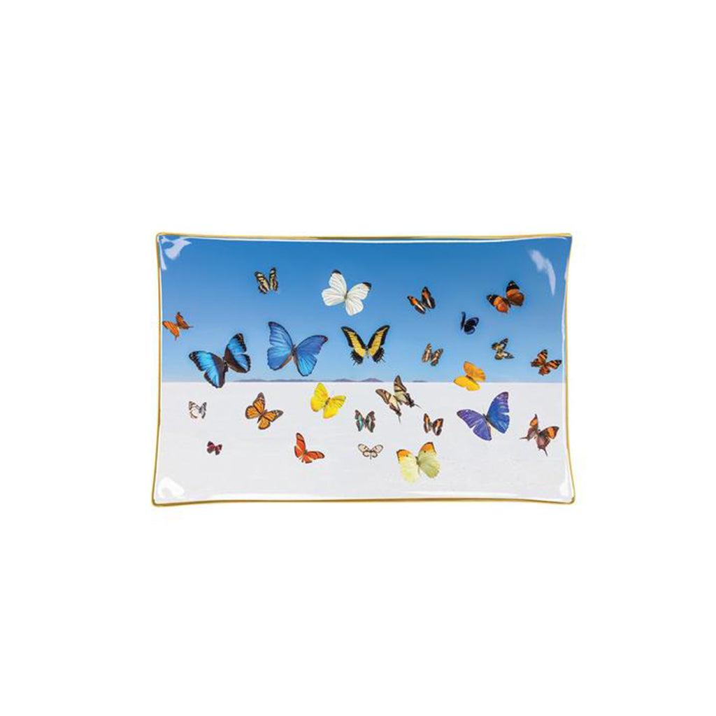 Gray Malin The Butterflies Porcelain Tray