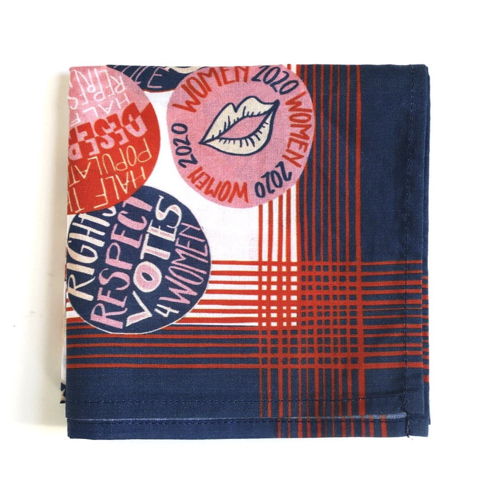 Bandana | No. 050 Votes For Women
