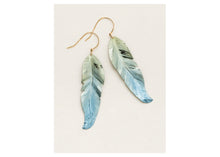 Load image into Gallery viewer, Free Spirit Feather Earrings