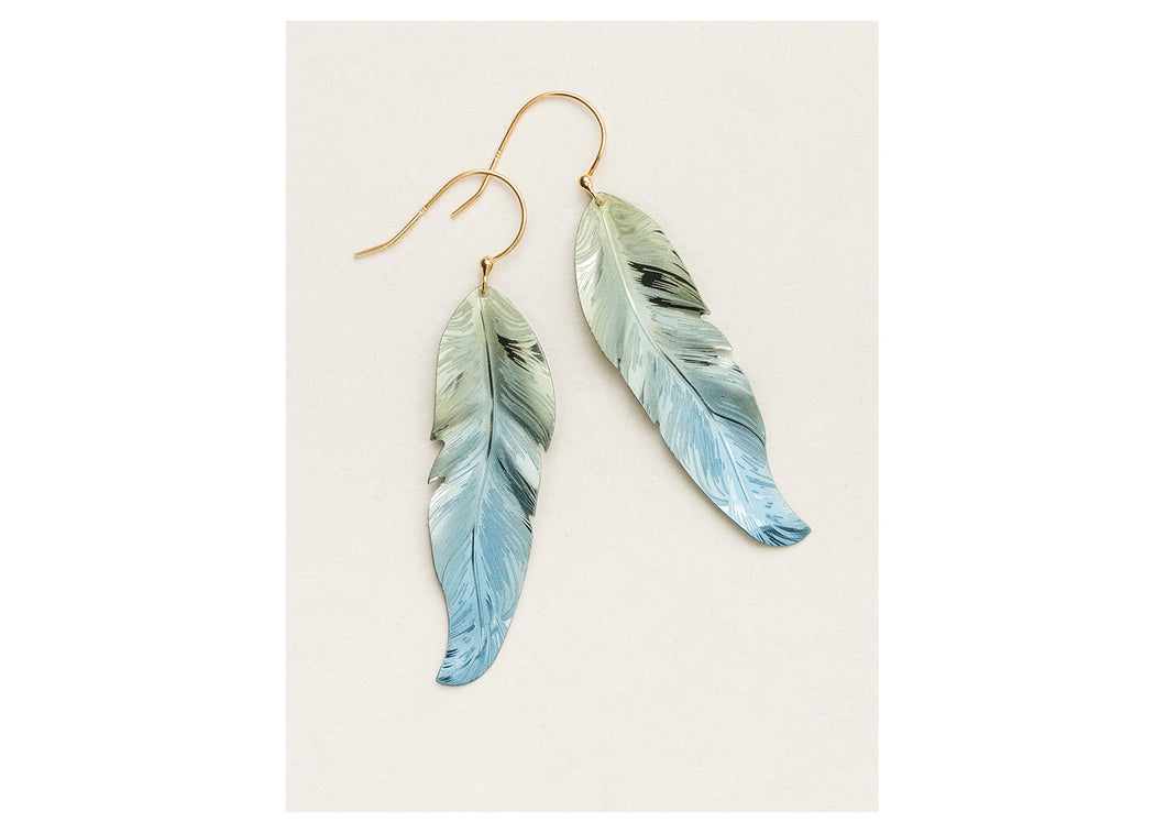 Free Spirit Feather Earrings