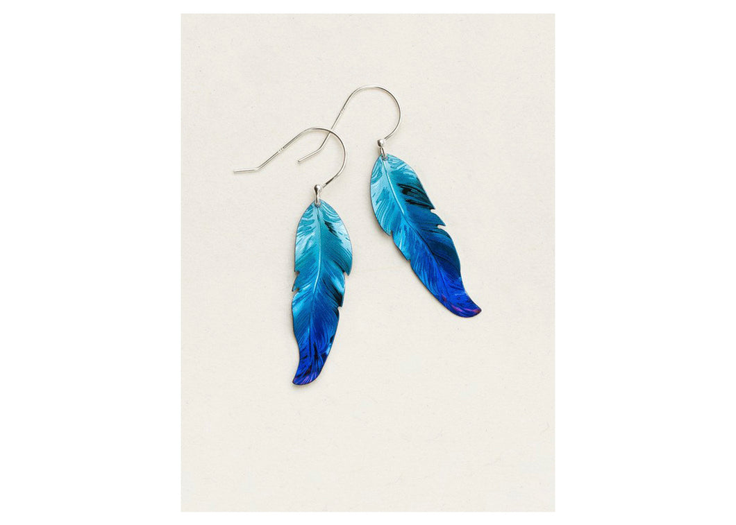 Petite Free Spirit Feather Earrings