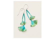 Load image into Gallery viewer, Ginkgo Drop Earrings