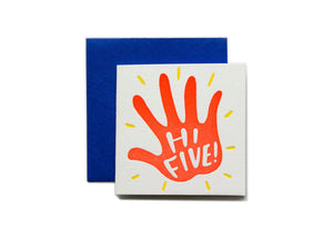 Hi Five! Tiny Card