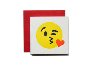 Kissy Face Tiny Card